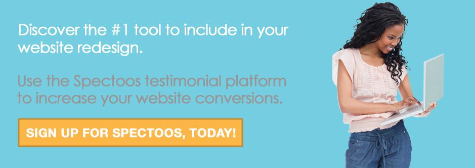 spectoos website redesign tool