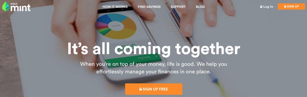Mint website